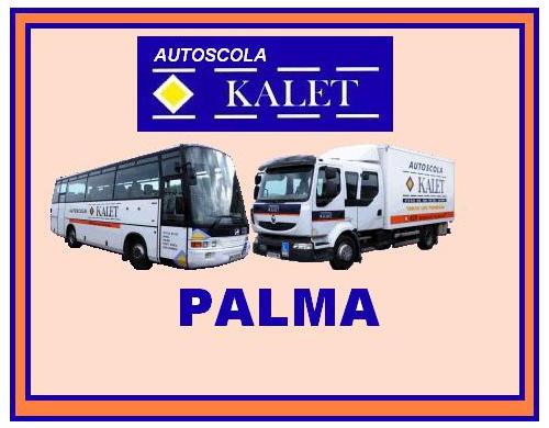 Oferta de cursos en la autoescuela kalet en mallorca - Transporte islas baleares ...
