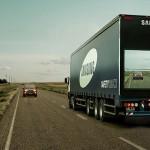 Camion Samsung Seguridad vial