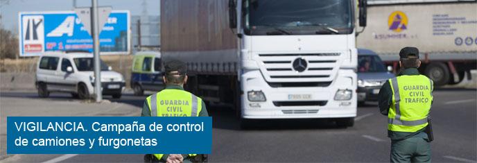 Velocidad - Control camiones y furgonetas