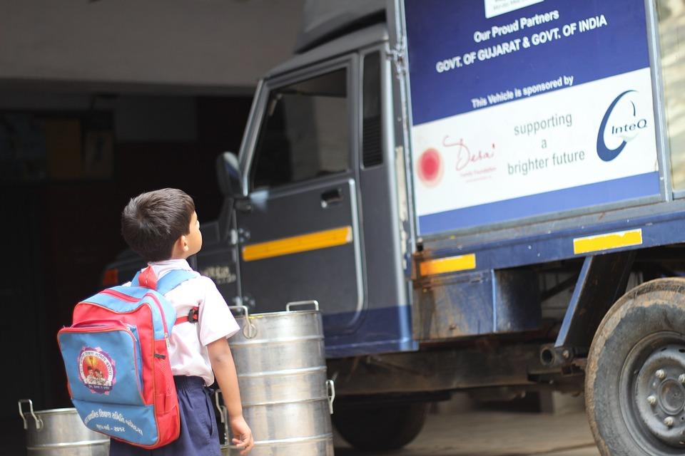 Viajar con niños en camión o furgoneta