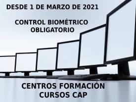 NUEVA NORMATIVA CENTROS CAP: OBLIGATORIO SISTEMA DE CONTROL DE ACCESO BIOMÉTRICO